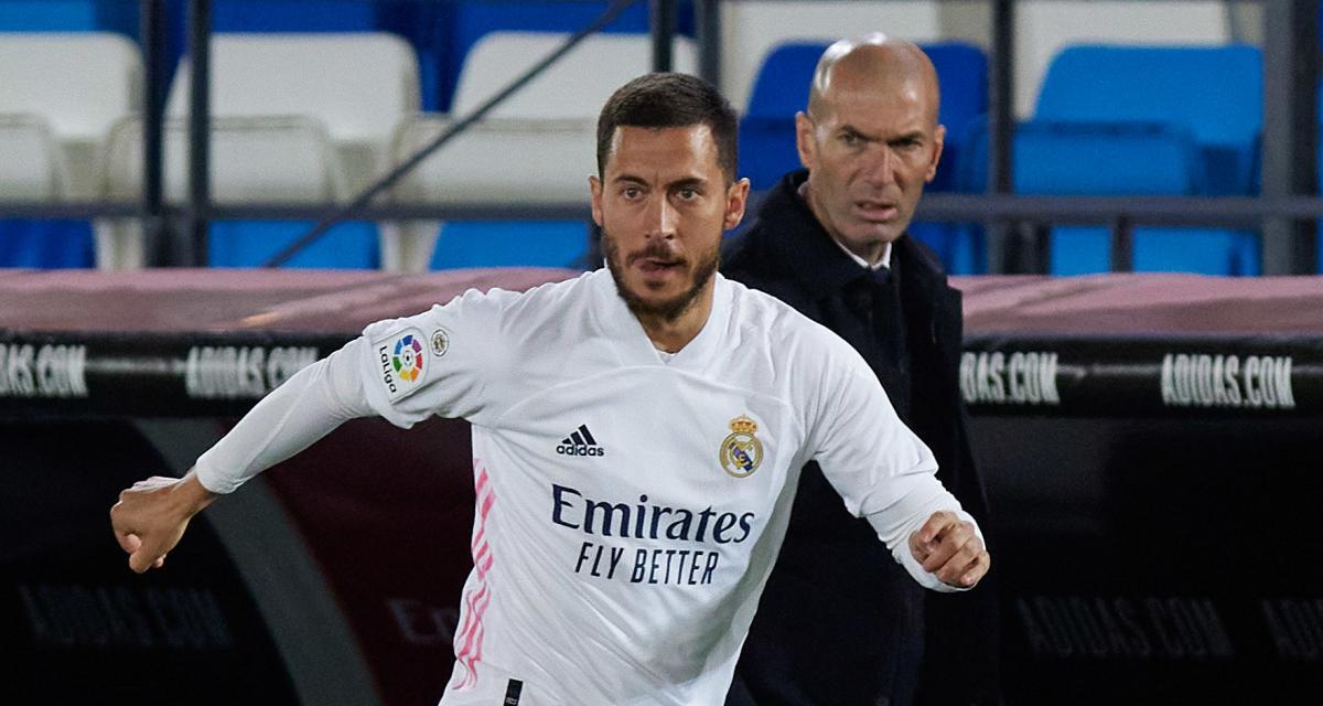 Real Madrid : une blessure suspecte fait polémique entre Zidane et Eden Hazard