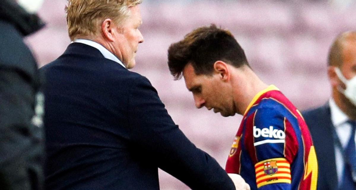FC Barcelone: s'il reste, Messi devra composer avec un nouveau coach