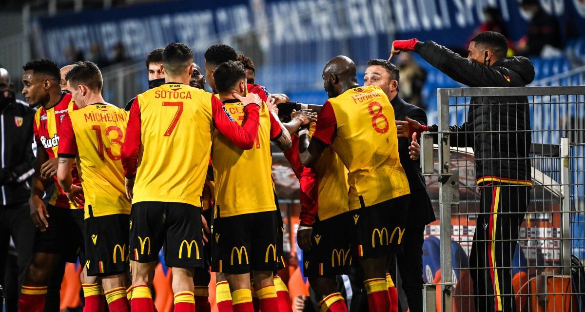 OM, RC Lens, Stade Rennais : Rennes coiffe les Sang et Or à la mi-temps