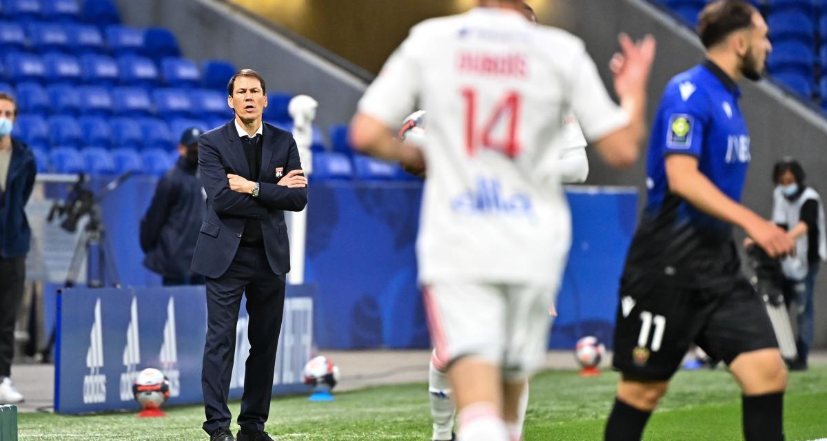 OL - Nice (2-3) : Rudi Garcia confirme son départ et dézingue ses joueurs !