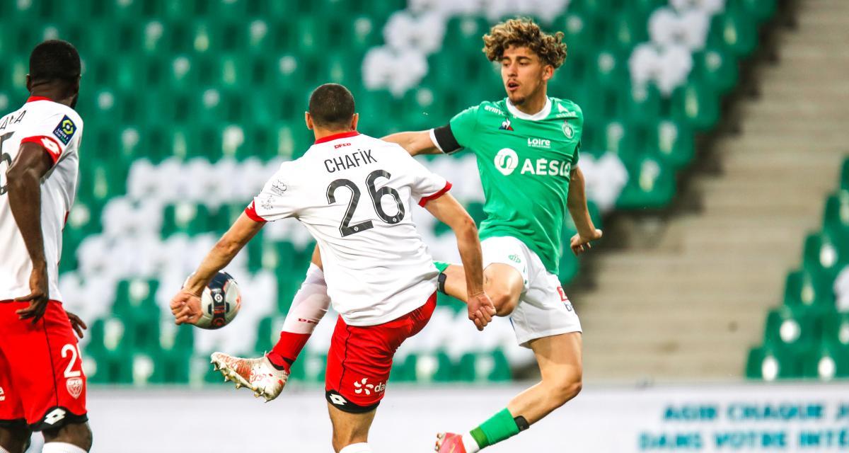 ASSE - Dijon FCO (0-1) : les notes des Verts, trop tendres pour la lanterne rouge