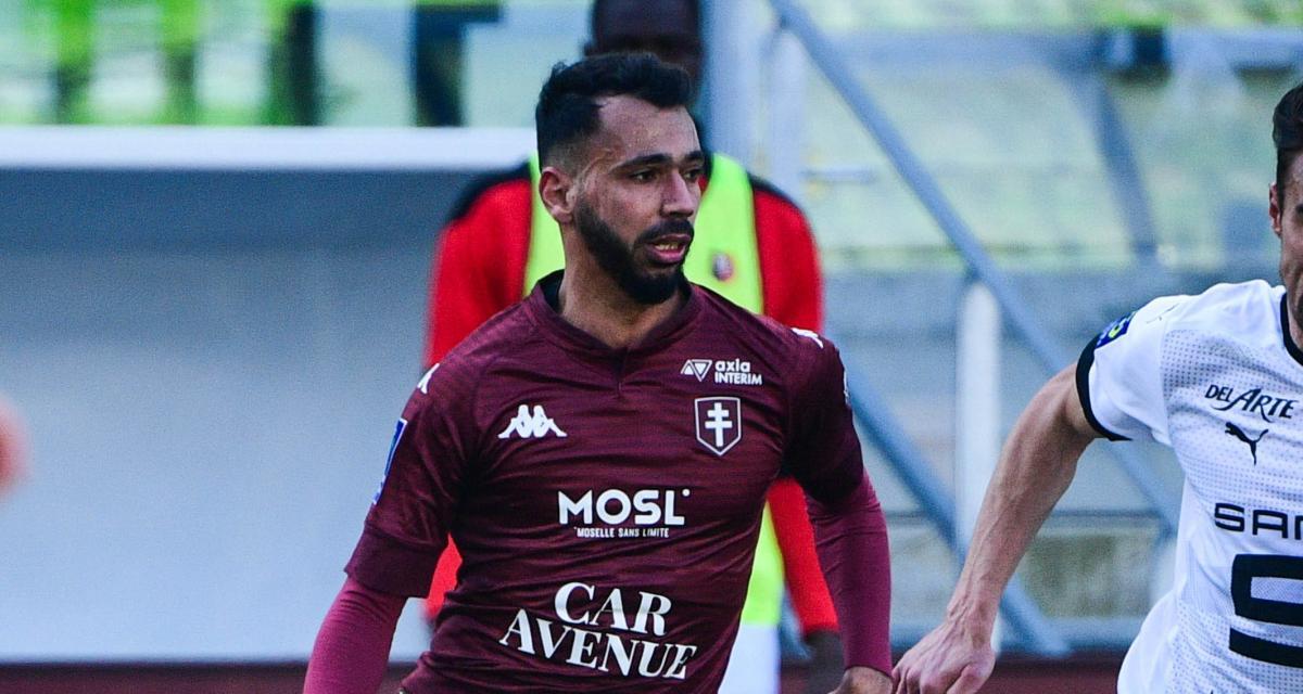 LOSC, Stade Rennais - Mercato : Boulaya (FC Metz) préfèrerait l'étranger
