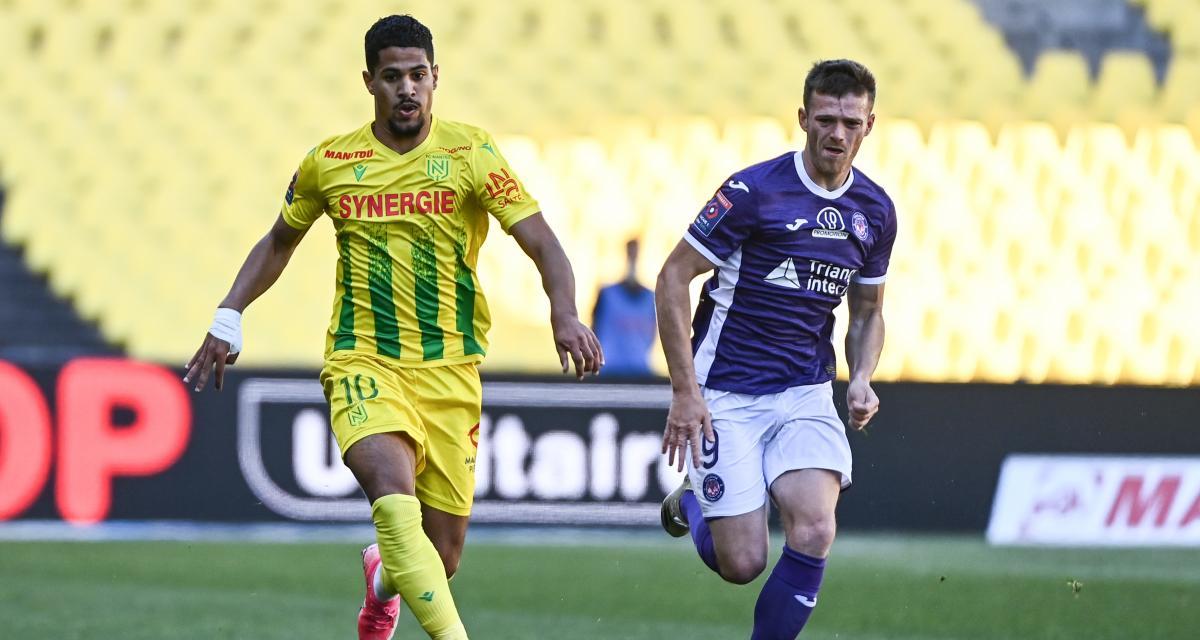 Résultat Barrage Ligue 1 : le FC Nantes se dirige vers son maintien (mi-temps)