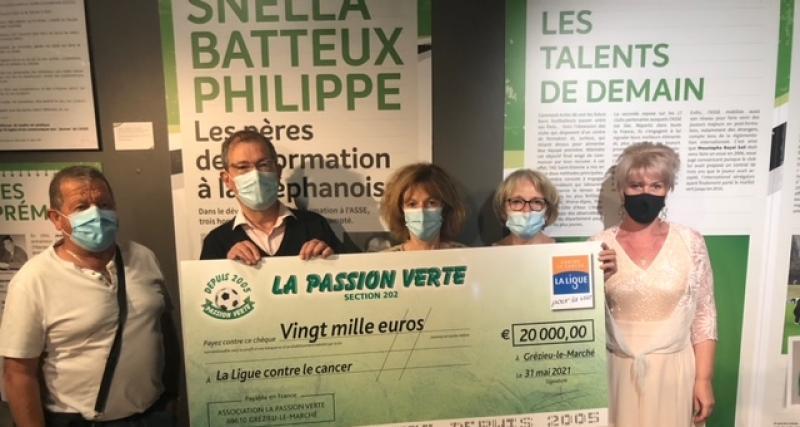 20 000 euros récoltés pour lutter contre le cancer
