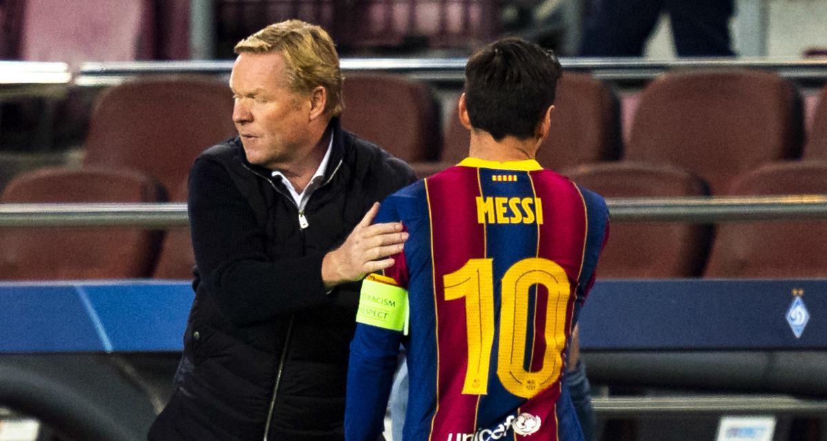 FC Barcelone - Mercato : Koeman maintenu… à deux conditions imposées par Messi !