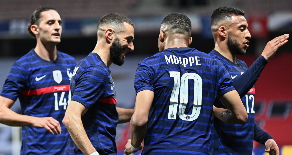 Résultat amical : France 1-0 Pays de Galles (mi-temps)
