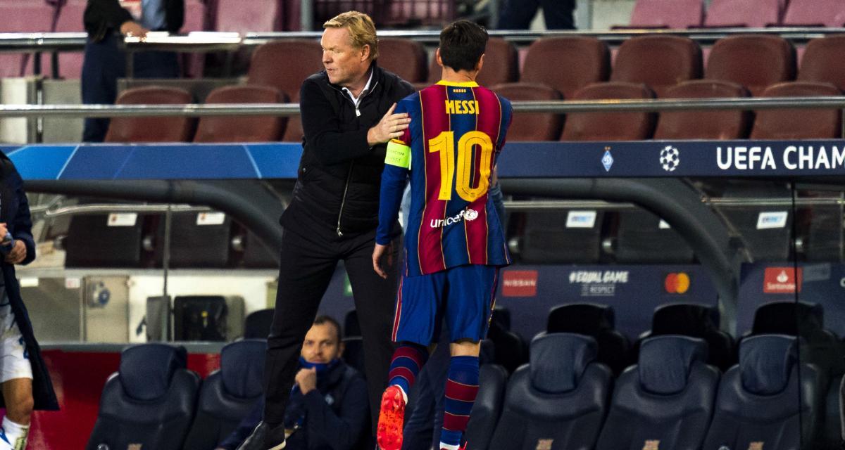 FC Barcelone, PSG - Mercato : Koeman scelle l'avenir de Messi, CR7 passe un examen décisif