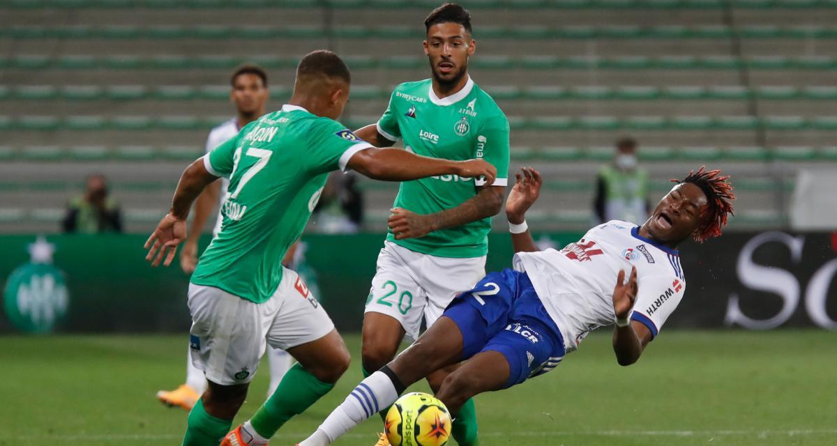 ASSE, RC Lens - Mercato : le dossier Bouanga tranché par le Stade Rennais ?