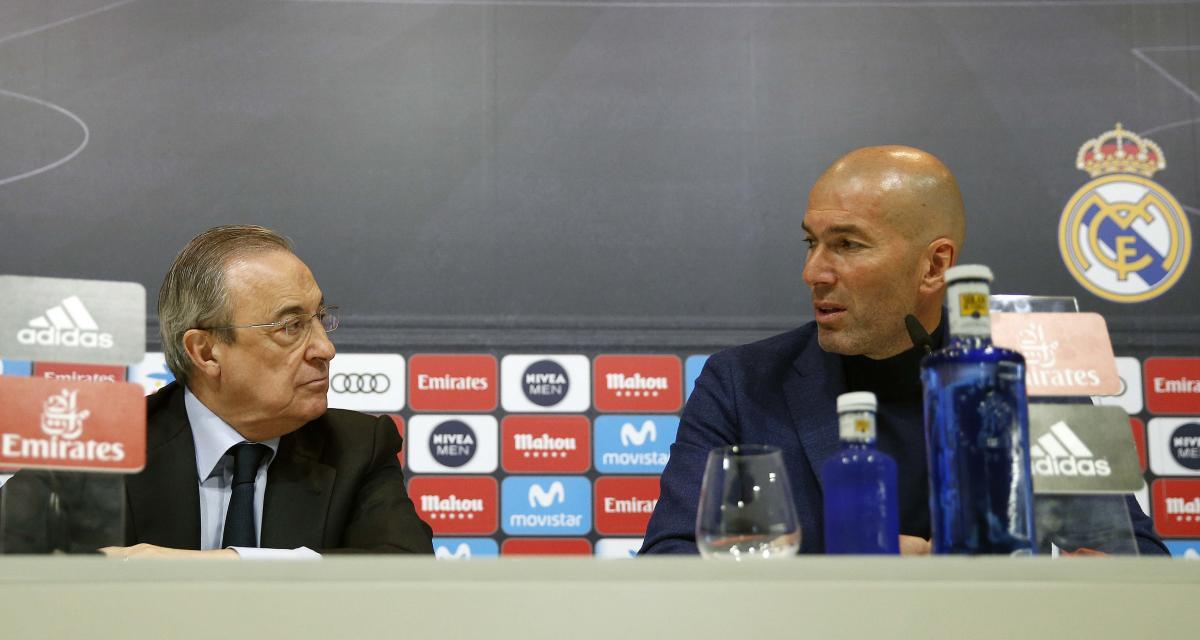 Real Madrid : Pérez a fait une fleur à 10 M€ à Zidane !