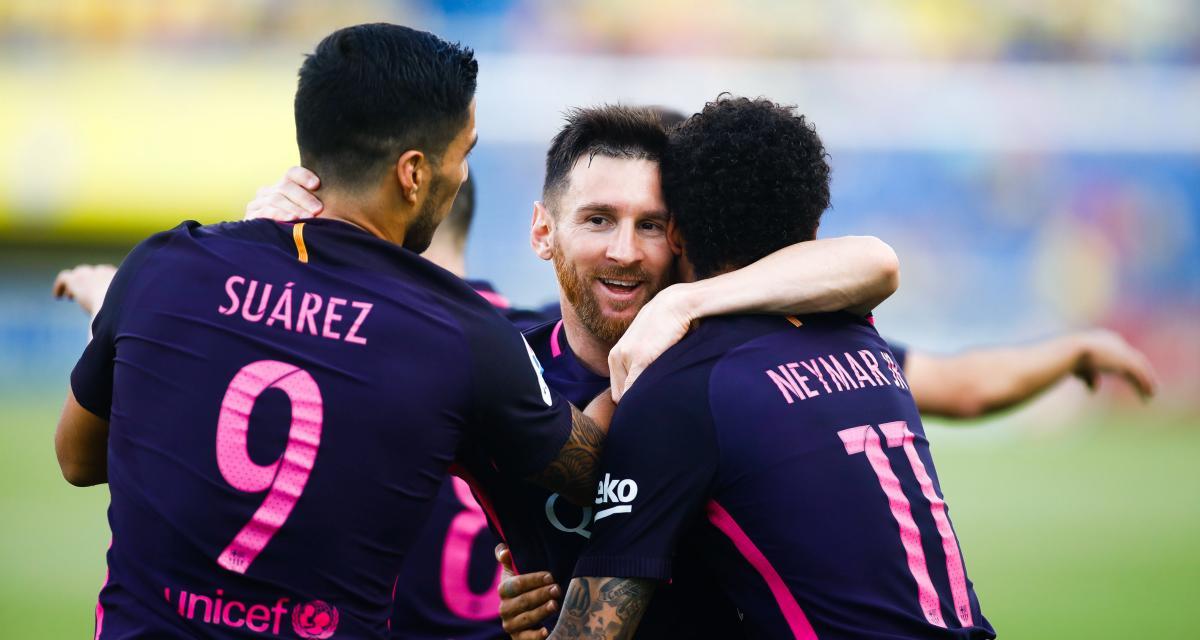 FC Barcelone : la MSN reformée pour un dernier combat