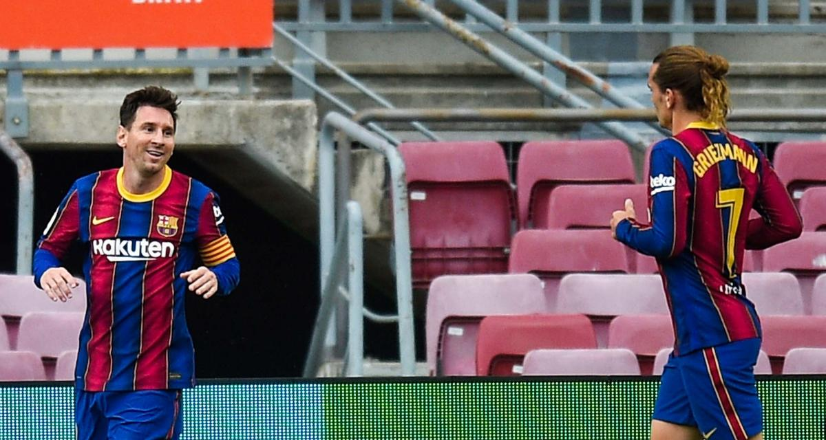 FC Barcelone - Mercato : Griezmann ou son chouchou, Messi va devoir choisir qui sacrifier