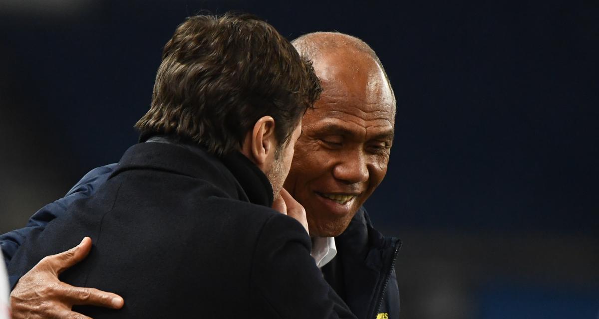 Kombouaré shoots Pochettino's odds at PSG