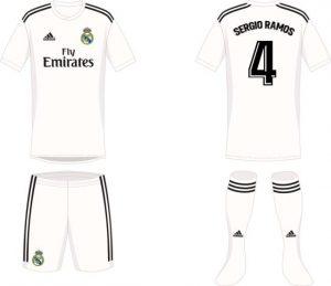 Vetement Real Madrid nouvelle