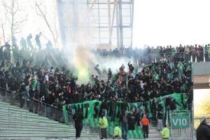 Tribune Supporters : l'ASSE et le FC Nantes expérimentent la manifestation pacifique