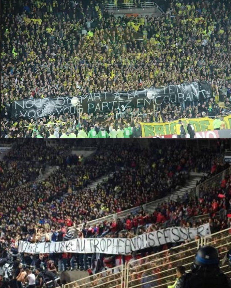 Banderole FC Nantes