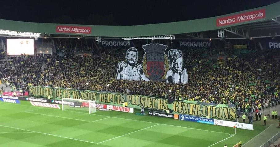 FC Nantes tifo