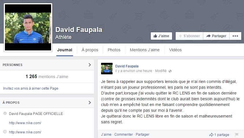 Faupala Facebook
