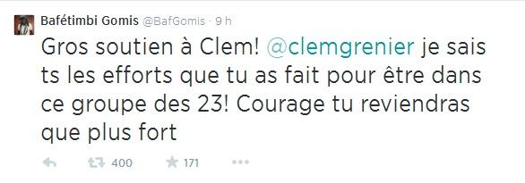 Gomis tweet