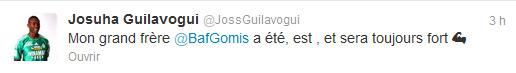 Guilavogui tweet