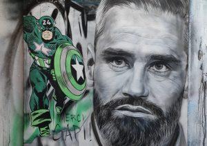ASSE – ITW BUT! Un artiste stéphanois fait de Loïc Perrin le Captain America des Verts