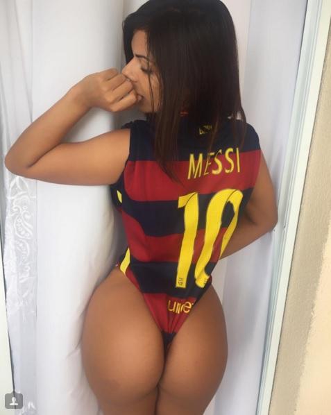 Ballon d'or : les plus belles fesses du Brésil votent Messi contre ...