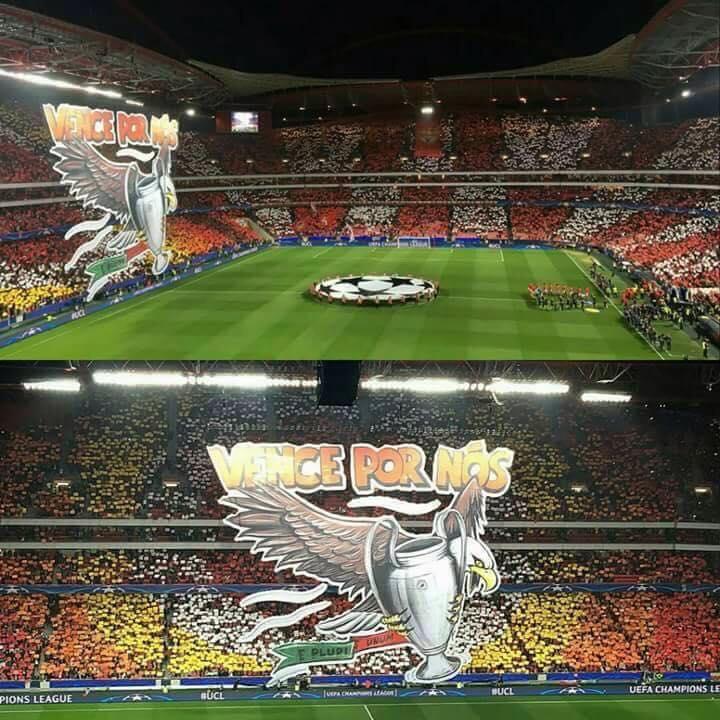 Tifo Benfica