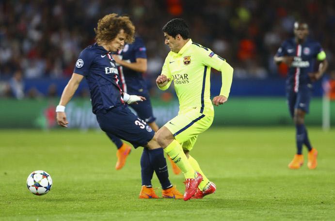 PSG 1-3 FC Barcelone : les 3 images qui ruinent la réputation de David Luiz