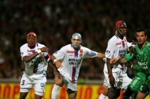 FOOTBALL : Lyon vs sain Etienne - L1 - DERBY - 30/04/2006
