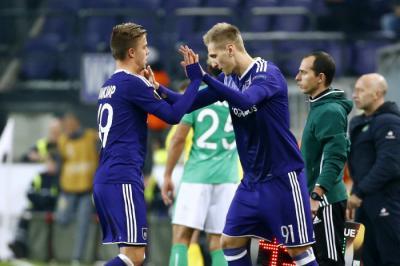 ASSE - PHOTOS : l'exploit d'Anderlecht (3-2) en dix clichés marquants