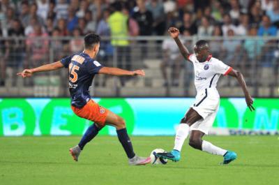 PSG : les 3 limites affichées parisiennes affichées à Montpellier (0-1)