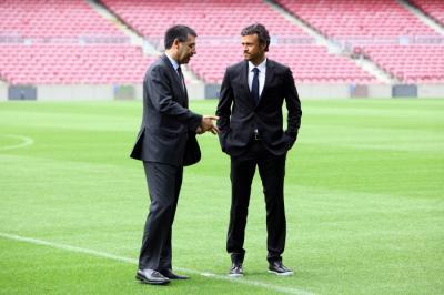 FC Barcelone : mercato, Suarez, Luis Enrique... Les confessions du président du Barça