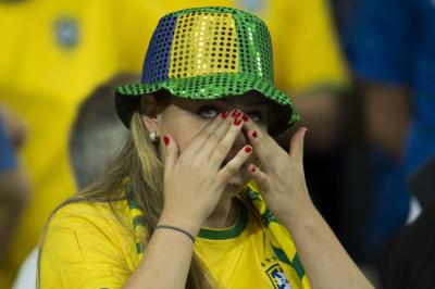 Brésil - Coupe du monde : Le cauchemar de tout un peuple en images