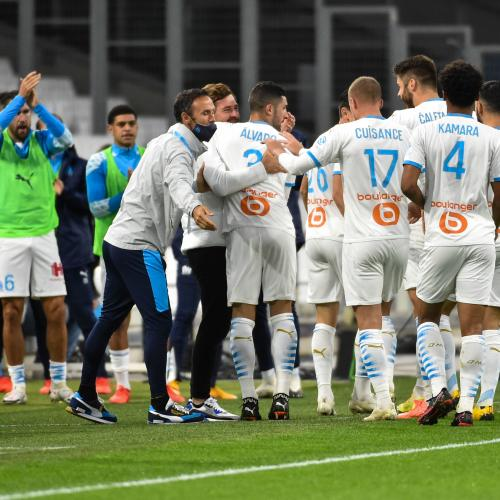 Top 10 des valeurs marchandes de l'Olympique de Marseille