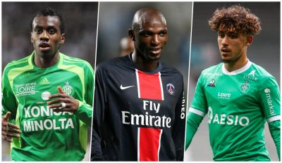 PSG - ASSE : les joueurs passés par les deux clubs