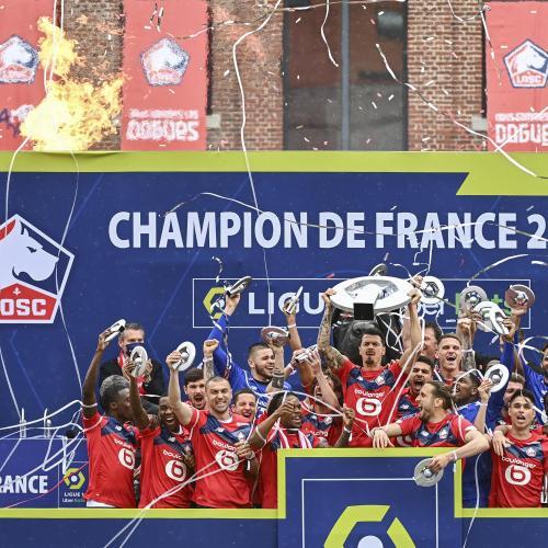 LOSC : les images du sacre de champion de France des Dogues